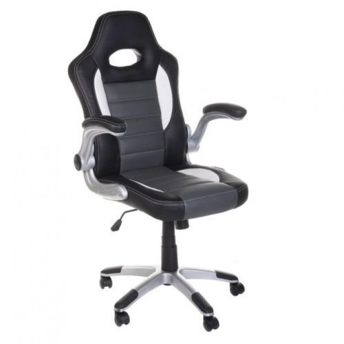 Corpocomfort Fotel gamingowy racer bx-6923 szary