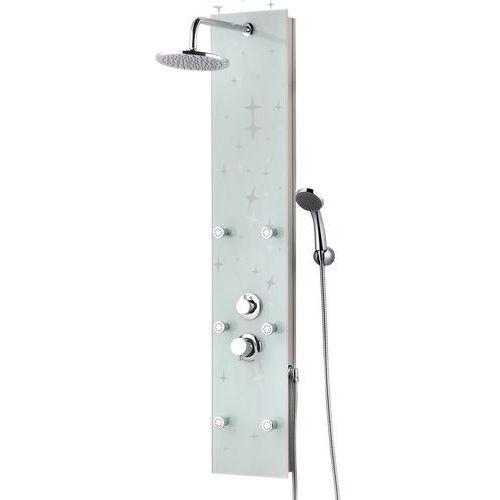 Panel prysznicowy z górną deszczownią, szklany karla marki Kerra