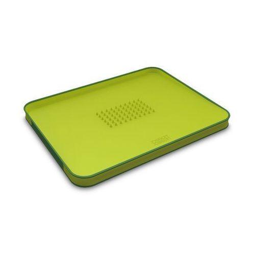 Deska dwustronna cut&carve plus - zielona - zielony marki Joseph joseph