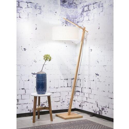 GOOD&MOJO Lampa podłogowa Andes, abażur w kolorze białym W, rozmiar 47x23 ANDES/F/4723/W, ANDES/F/4723/W