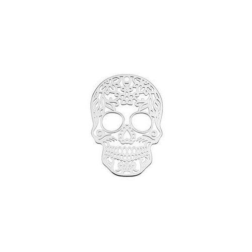 925.pl Duża zawieszka - czaszka meksykańska, srebro próba 925 big bl 6