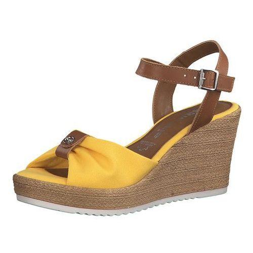 TAMARIS Sandały brązowy / żółty (4059253254056)