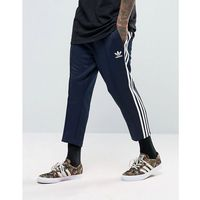 sst relax cropped joggers in blue bk3631 - blue marki Adidas originals