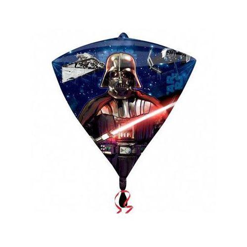 Amscan Balon foliowy diamentowy star wars - 38 x 43 cm - 1 szt. (0026635303989)