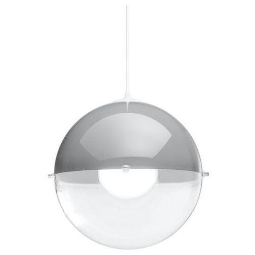 Koziol Orion - lampa wisząca przezroczysty/szary ø32,7cm