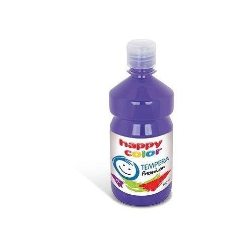 Farba tempera premium 500ml śliwkowy (3310 0500-63) -. marki Happy color