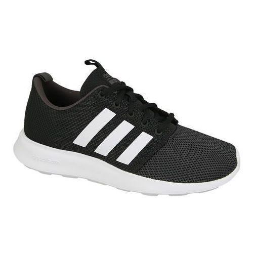 Buty  cloud foam swift racer bb9939 - czarny marki Adidas