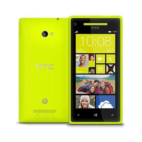 HTC Windows Phone 8X 16GB Żółty - Żółty \ 2 lata na terenie całego kraju + polskie menu + bez sim locka - sprawdź w wybranym sklepie