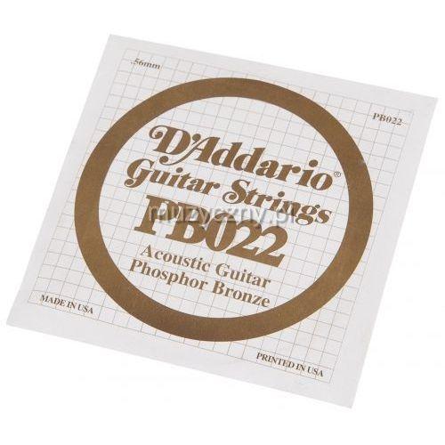 D′Addario PB022 struna do gitary akustycznej Phosphor Bronze