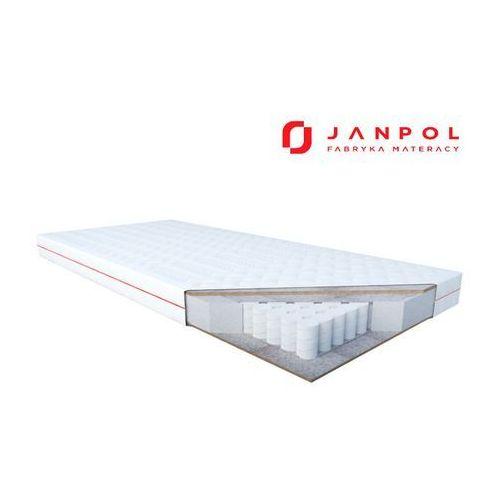 Janpol erebu - materac kieszeniowy, sprężynowy, rozmiar - 80x190, pokrowiec - smart wyprzedaż, wysyłka gratis