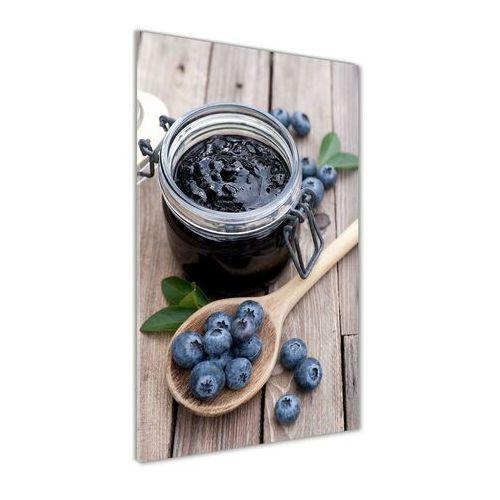 Foto obraz akrylowy do salonu Dżem jagodowy
