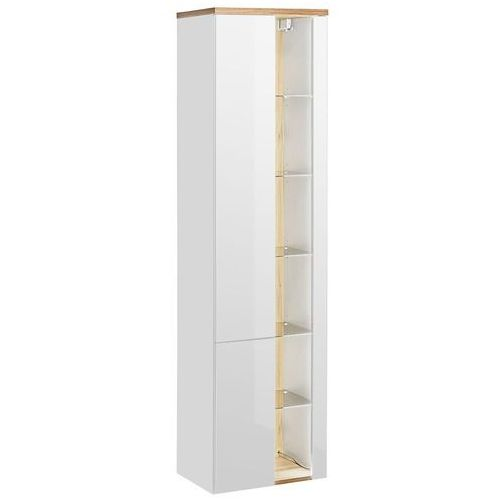 Szafka wysoka BAHAMA WHITE 800, kolor biały