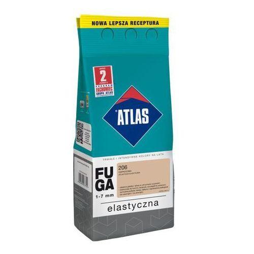 Fuga cementowa 206 cappucino 2 kg marki Atlas