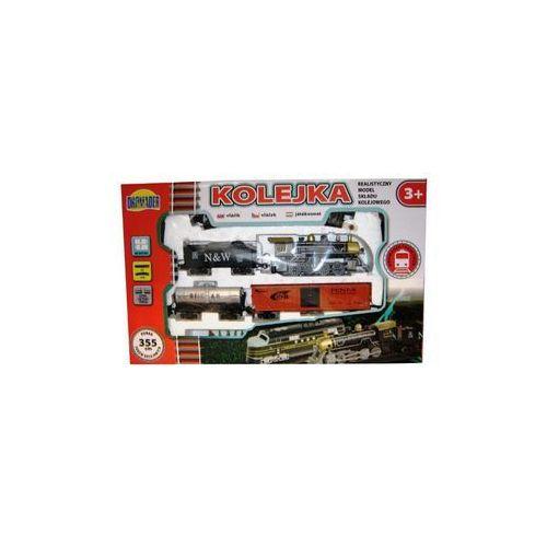 Dromader kolejka średnia 355 cm 3 wagony (5900360005088)