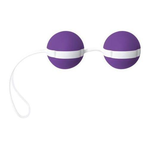 Joydivision (ge) Kulki gejszy joyballs bicolored fiolet/ biel | 100% dyskrecji | bezpieczne zakupy