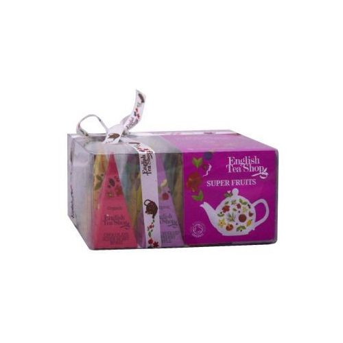 English tea shop Ets bio super fruits collection 12 piramidek