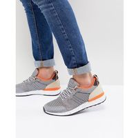 Aldo greiman knitted trainers in grey - grey