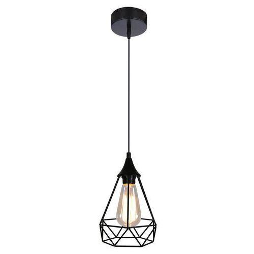 LAMPA wisząca GRAF 31-62888 Candellux druciana OPRAWA zwis klatka czarna tarbes, kolor Czarny