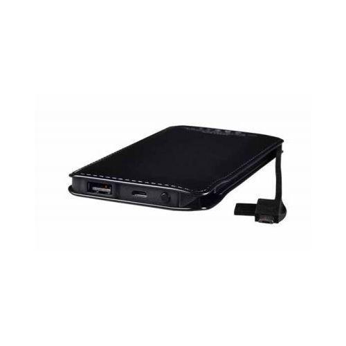 Telone Bateria zewnętrzna power bank tel1 slim 8000mah czarny (5900217200420)