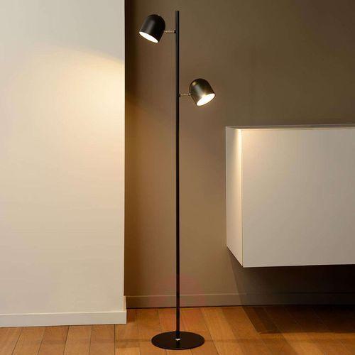 Lucide SKANSKA lampa stojąca LED Czarny, 2-punktowe - Nowoczesny - Obszar wewnętrzny - SKANSKA - Czas dostawy: od 4-8 dni roboczych (5411212030481)