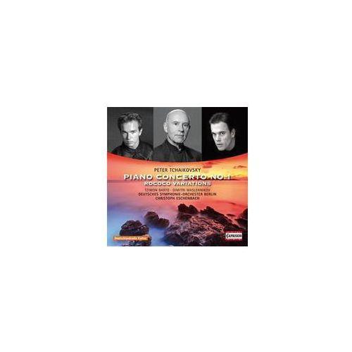 Capriccio Tchaikovsky: piano concerto no. 1, rococo variations (0845221050652)