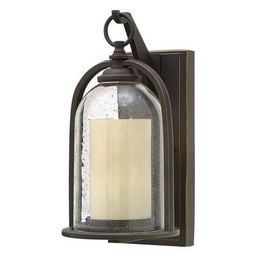 Lampa ścienna quincy hk/quincy/s ip44 - lighting - sprawdź mega rabaty w koszyku! marki Elstead