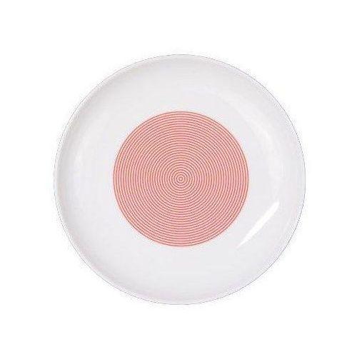 Cmielow design studio Talerz deserowy 18 cm new atelier mix & match czerwony (5903353465708)