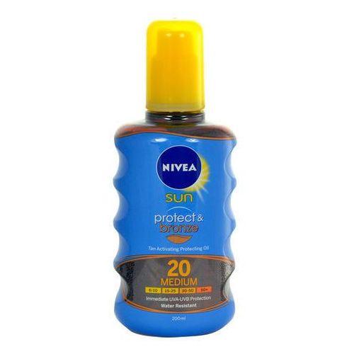 Nivea  sun protect & bronze oil spray spf20 200ml w opalanie (4005900118165)
