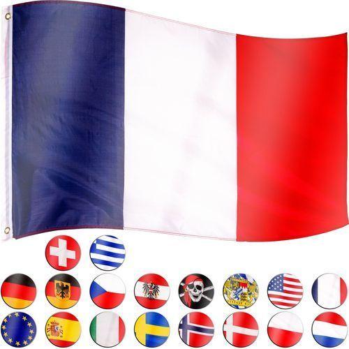 FLAGA FRANCJI FRANCUSKA 120x80 CM NA MASZT FRANCJA - Francji (4048821749131)