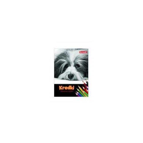 Dan-mark Kredki ołówkowe 12 kolorów jumbo catdog (5905184065133)