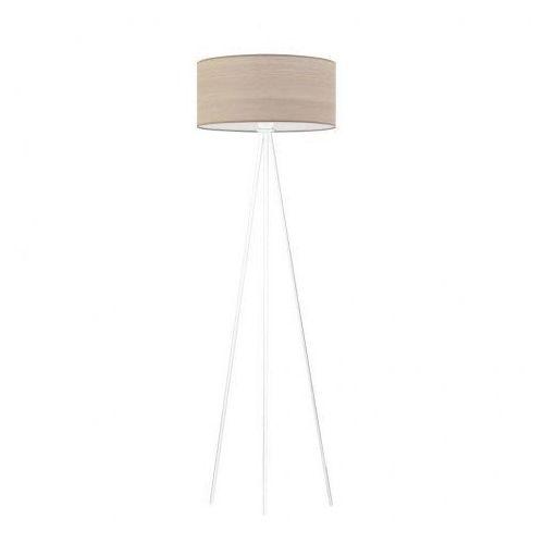 Lysne Biała lampa stojąca sewilla eco