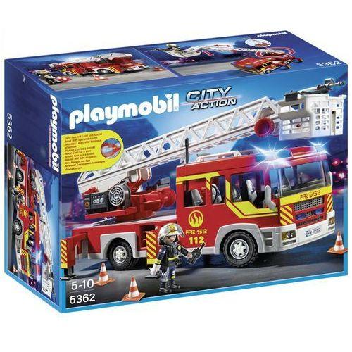 Playmobil CITY ACTION Samochód strażacki z drabiną, światłem i dźwiękiem 5362