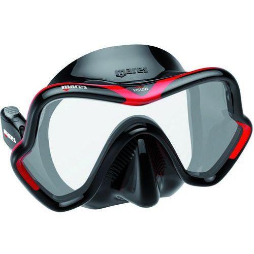 Mares Maska do nurkowania one vision czarno-czerwony + darmowy transport!