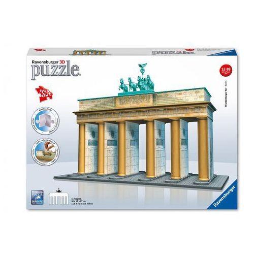 Puzzle 3D Brama Brandenburska 324 (4005556125517)