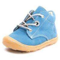 PEPINO Boys Buty do nauki chodzenia CORY Jeans Barbados (średnie) (4052598379552)
