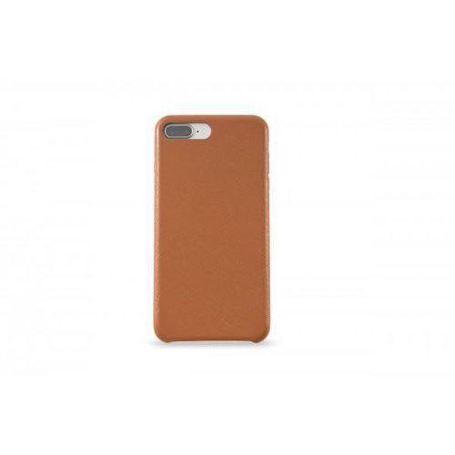 KMP Leather Case do iPhone 7 Plus/8 Plus skórzane brązowe, kolor brązowy