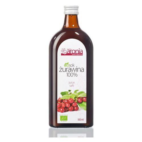 SOK ŻURAWINOWY 100 % BIO 500 ml - POLSKA ARONIA (napój)