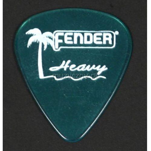 Fender California Clear heavy surf green kostka gitarowa