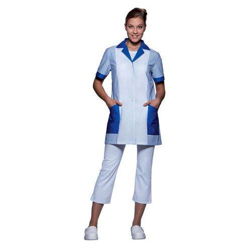 Tunika medyczna z krótkim rękawem, rozmiar 44, niebieska   KARLOWSKY, Penelope