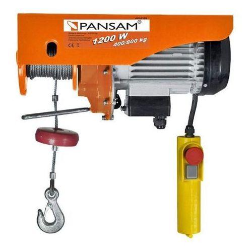 a045120 wciągarka wyciągarka elektryczna linowa 1050w 800kg - oficjalny dystrybutor - autoryzowany dealer pansam marki Pansam