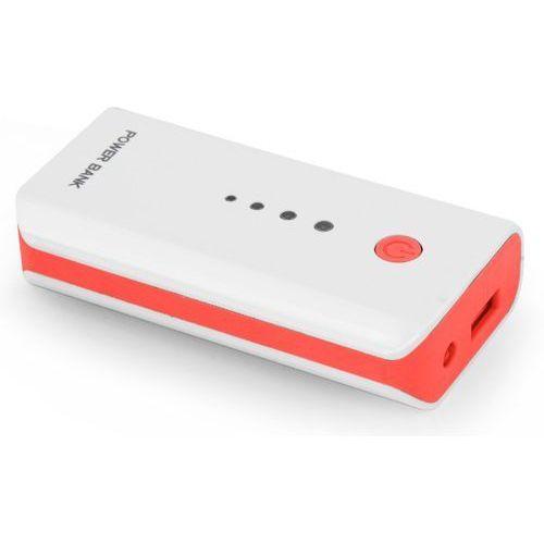 PowerBank ESPERANZA Electron EMP104WR (5200 mAh) Biało-czerwony