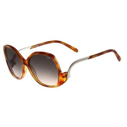 Okulary Słoneczne Chloe CE 675S Emilia 725, kolor żółty