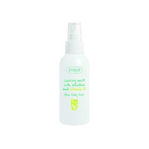 Ziaja  cooling mist mgiełka chłodząca do twarzy, ciała i włosów mentol and vitamin c 100 ml