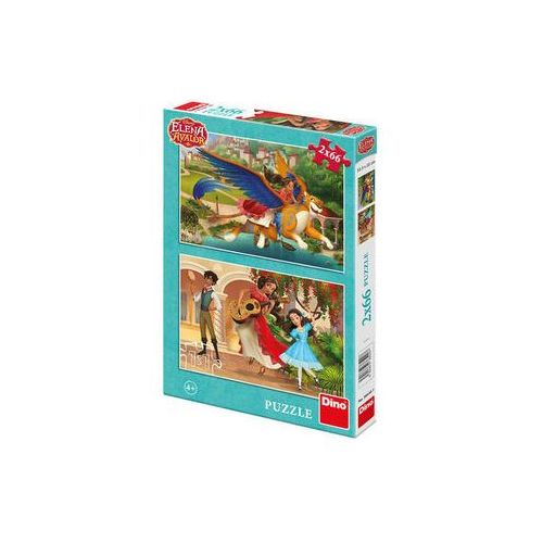 The walt disney company Elena z avaloru - puzzle 2x66 dílků (8590878385207)