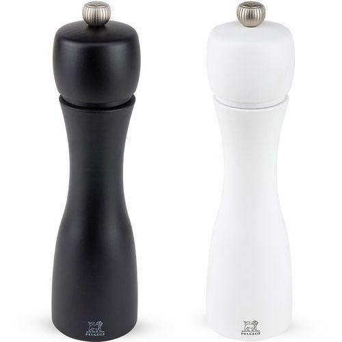 Młynki do pieprzu i soli 20cm Peugeot Tahiti Duo czarny / biały (PG-2-24277)