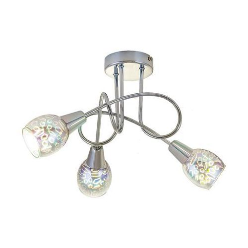Plafon lampa sufitowa Rabalux Porto 3x40W E14 chrom 6009