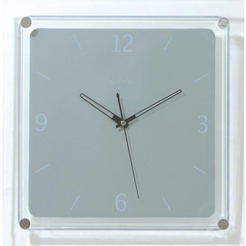 Zegar ścienny Nextime Mega kwadratowy (2851) (8717545057964)