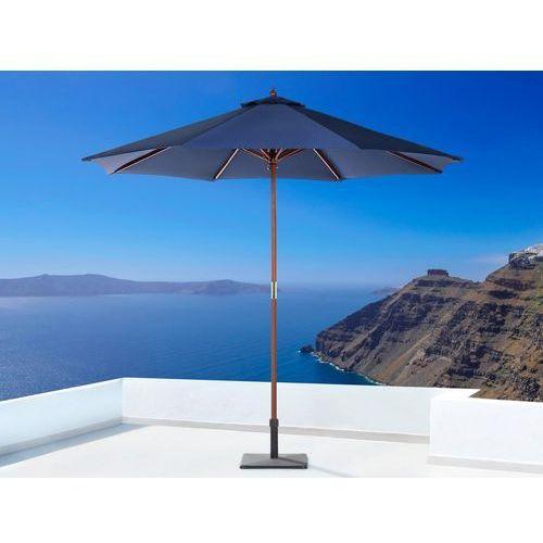 Parasol ogrodowy Ø270 ciemnoniebieski toscana ii marki Beliani