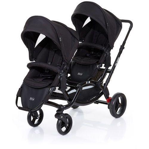 wózek podwójny zoom black wyprodukowany przez Abc design