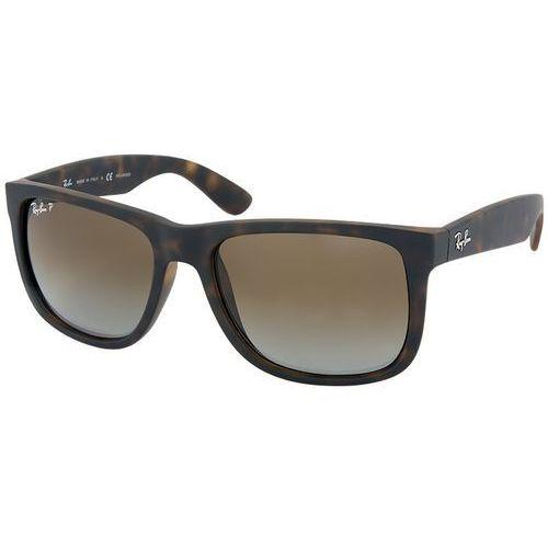Okulary przeciwsłoneczne Ray-Ban Justin RB4165 - 865/T5 POL, kolor żółty